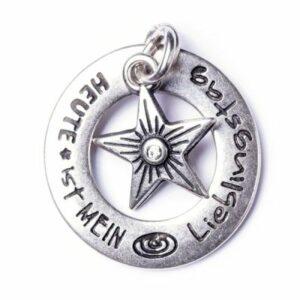 Anhänger, Schmuck LieblingsTag M Sterling & StarShine S Sterling, Amulett Twin - Meine Spiritualität