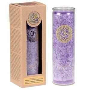 Duftprodukte, Kerzen + Kerzenhalter, Phoenix Duftkerze Stearin 7. Chakra Patchouli, Ladanum, Weihrauch - Meine Spiritualität