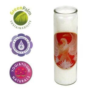 Duftprodukte, Kerzen + Kerzenhalter, Phoenix Duftkerze Engel Lotus Liebesengel Weihrauch und Myrrhe - Meine Spiritualität