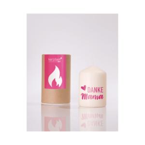 Kerzilein Flämmchen, pink – DANKE MAMA – Meine Spiritualität